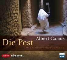 Albert Camus: Die Pest, 2 CDs