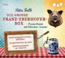 Rita Falk: Die große Franz-Eberhofer-Box, 12 CDs