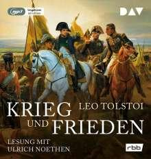 Leo N. Tolstoi: Krieg und Frieden (Ungekürzte Lesung), MP3-CD