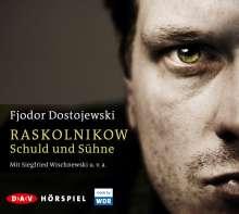 Fjodor M. Dostojewski: Raskolnikow. Schuld und Sühne, 4 CDs