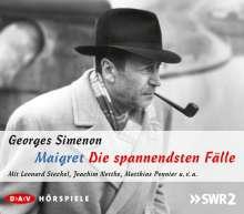 Georges Simenon: Maigret - Die spannendsten Fälle, 5 CDs