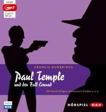 Francis Durbridge: Paul Temple und der Fall Conrad (mp3-Ausgabe), MP3-CD