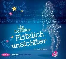 Liz Kessler: Plötzlich unsichtbar, 3 CDs