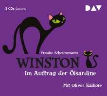 Frauke Scheunemann: Winston 04 - Im Auftrag der Ölsardine, CD
