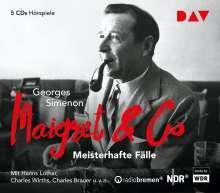 Georges Simenon: Maigret & Co - Meisterhafte Fälle, 5 CDs
