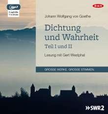 Johann Wolfgang von Goethe: Dichtung und Wahrheit - Teil I und II, 2 Diverses