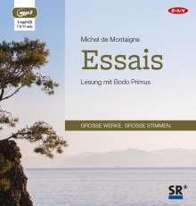 Michel de Montaigne: Essais, MP3-CD