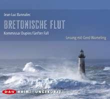 Jean-Luc Bannalec: Bretonische Flut. Kommissar Dupins fünfter Fall, 8 CDs