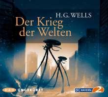 H. G. Wells: Der Krieg der Welten, 6 CDs