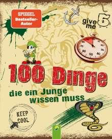 Philip Kiefer: 100 Dinge die ein Junge wissen muss, Buch