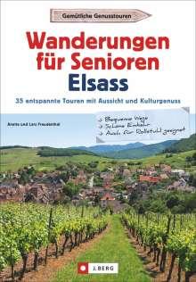 Lars Freudenthal: Wanderungen für Senioren Elsass, Buch