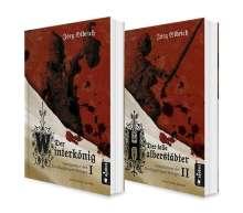 Jörg Olbrich: Der Dreißigjährige Krieg. Die große Roman-Reihe, Band 1 und 2 (Der Winterkönig / Der tolle Halberstädter) in einem Bundle, Buch