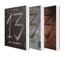 Carl Wilckens: Dreizehn Band 1-3: Das Tagebuch / Die Anstalt / Das Spiegelbild, Buch