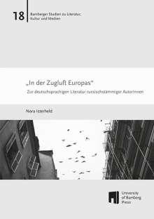 """Nora Isterheld: """"In der Zugluft Europas"""", Buch"""