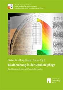 Bauforschung in der Denkmalpflege, Buch