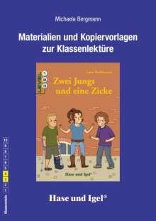 Michaela Bergmann: Zwei Jungs und eine Zicke. Begleitmaterial, Buch