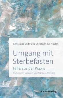 Christiane zur Nieden: Umgang mit Sterbefasten, Buch
