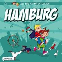 Olaf Luft: Lilly und Anton entdecken Hamburg, Buch