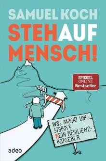 Samuel Koch: StehaufMensch, Buch