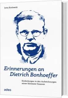 Jutta Koslowski: Erinnerungen an Dietrich Bonhoeffer, Buch