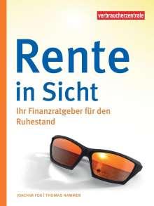 Joachim Fox: Rente in Sicht, Buch