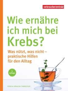 Gisela Krause-Fabricius: Wie ernähre ich mich bei Krebs?, Buch