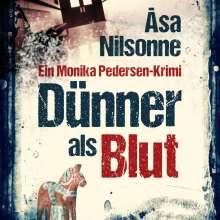 Åsa Nilsonne: Dünner als Blut, CD