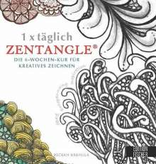 Beckah Krahula: 1 x täglich Zentangle, Buch