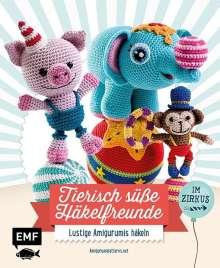 Amigurumipattern: Tierisch süße Häkelfreunde im Zirkus, Buch