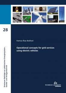 Hamza Riaz Bokhari: Operational concepts for grid services using electric vehicles, Buch