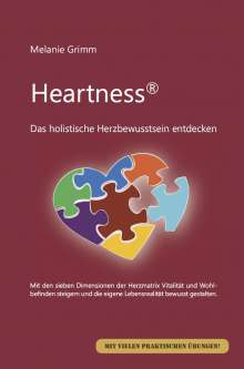 Melanie Grimm: Heartness, Buch