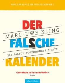 Marc-Uwe Kling: Der falsche Kalender 2, Diverse