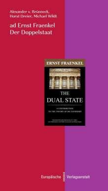Alexander von Brünneck: ad Ernst Fraenkel. Der Doppelstaat, Buch