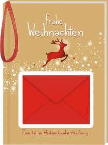 Frohe Weihnachten - Rentier, Buch