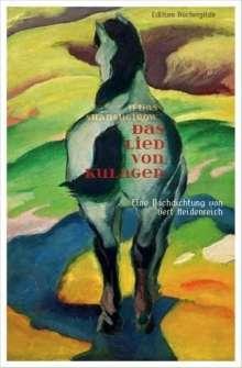 Ilijas Shansugirow: Das Lied von Kulager, Buch