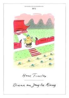 Hans Traxler: Drama am Jang tse Kiang, Buch