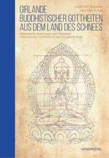Joachim Baader: Girlande buddhistischer Gottheiten aus dem Land des Schnees, Buch