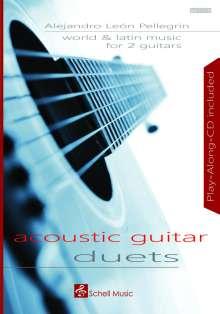 World and Latin Music for 2 Guitars, Noten