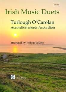 Turlough O'Carolan: Irish Music Duets: O'Carolan / Accordion Meets Accordion, Noten