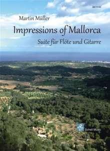 Martin Müller: Impressions of Mallorca, Noten