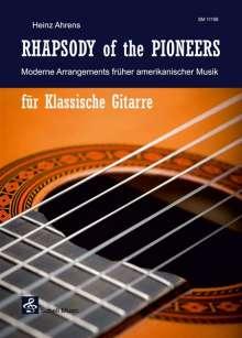 Heinz Ahrens: Rhapsody of the Pioneers, Noten