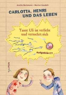 Anette Beckmann: Carlotta, Henri und das Leben, Buch