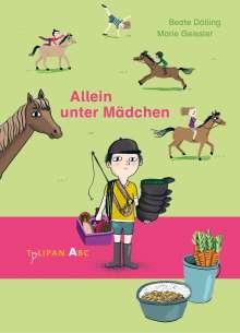 Beate Dölling: Allein unter Mädchen, Buch