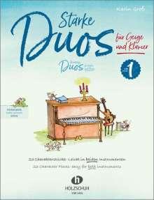 Starke Duos für Geige und Klavier, Buch