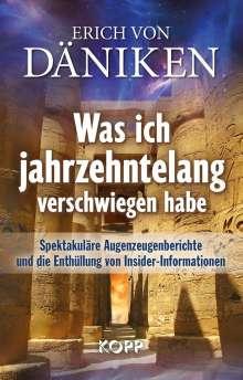 Erich von Däniken: Was ich jahrzehntelang verschwiegen habe, Buch