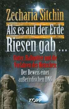 Zecharia Sitchin: Als es auf der Erde Riesen gab..., Buch