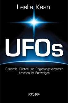 Leslie Kean: UFOs - Generäle, Piloten und Regierungsvertreter brechen ihr Schweigen, Buch