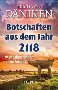 Erich Von Däniken: Botschaften aus dem Jahr 2118, Buch