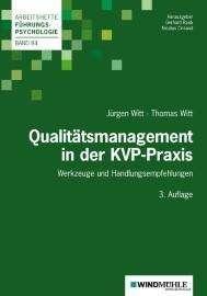 Jürgen Witt: Qualitätsmanagement in der KVP-Praxis, Buch