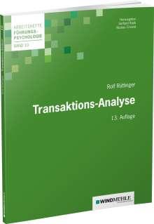 Rolf Rüttinger: Transaktions-Analyse, Buch